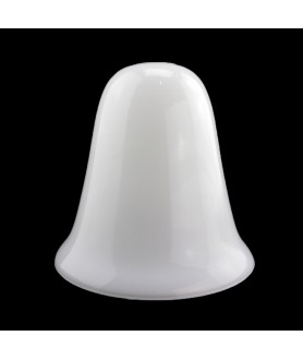 155mm Gloss Opal Diffusers Light Shade with 30mm Opening
