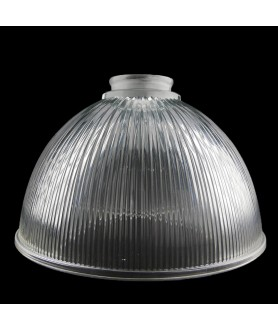 215mm Classic Prismatic Dome Light Shade with 57mm Fitter Neck