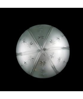 Medium Star Acorn Light Shade with 80mm Fitter Neck