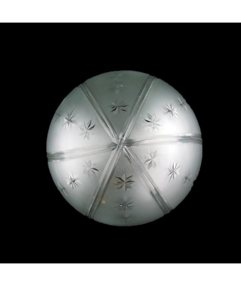 Medium Star Acorn Shades with 80mm Fitter Neck