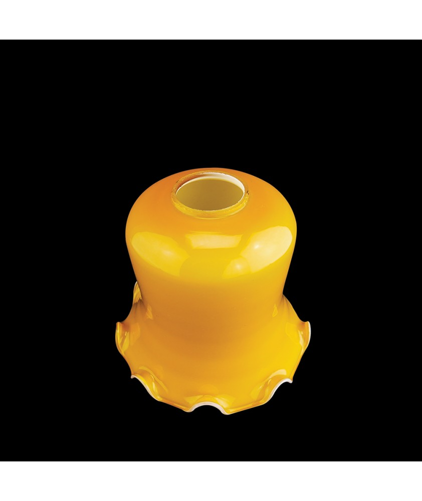 Christopher Wray Cognac Tulip Light Shade with 45mm Fitter Hole