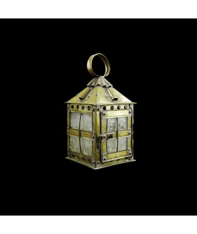 Lovely Quality Brass Candle Lantern