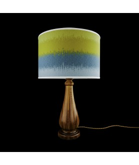 Lignum Vitae Table Lamp with Shade