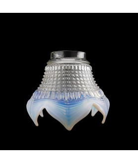 Opalescent Tipped Tulip Light Shade with 65mm Fitter Neck