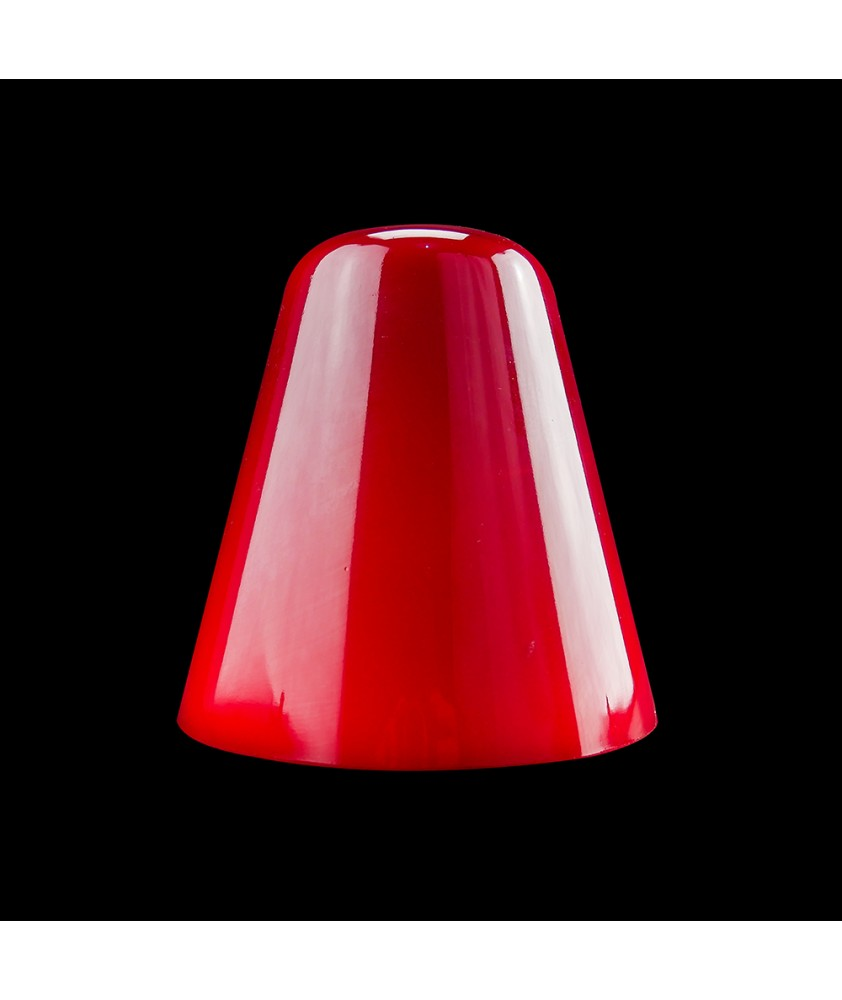 Red Tulip/Bell Light Shade with 10mm Fitter Hole