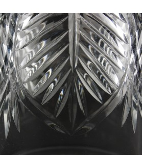 Crystal Light Shade with hand cut pattern and 28mm Fitter Hole (clear or frosted)