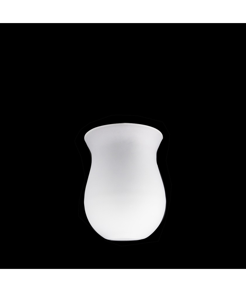 115mm Opal Tulip Shade with 28mm Fitter Hole