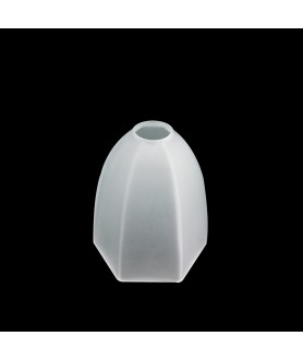 Hexagonal Frosted or Opal Tulip Light Shade with 30mm Fitter Hole