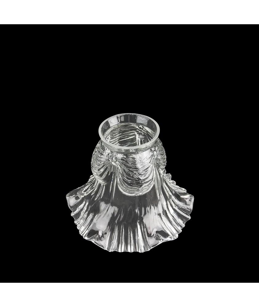 Frilled Tulip Light Shade with 57mm Fitter Neck