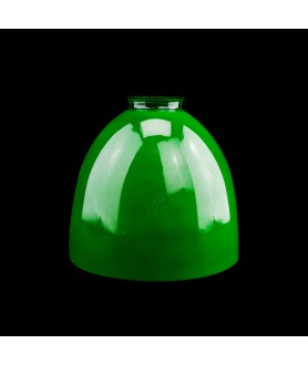 Green Dome Light Shade with 57mm Fitter Neck