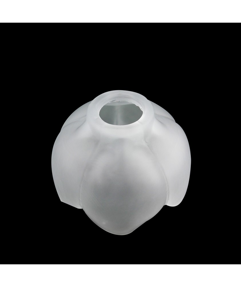 Frosted Tulip Shade with 28mm Fitter Hole