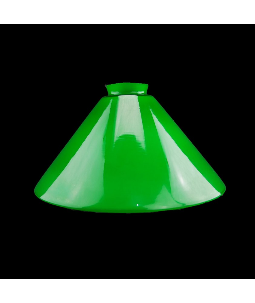 245mm Green Coolie Shade with 57mm Fitter Neck