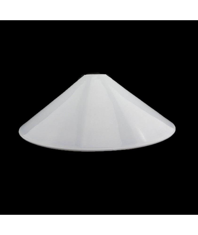 232mm Opal Coolie Shade with 28mm Fitter Hole