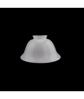 158mm Opal Rounded Coolie Light Shade with 57mm Fitter Neck