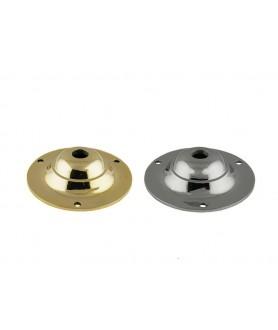 80mm Ceiling Plate Cast Brass
