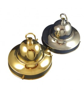 130mm Dome Fixing in Brass or Chrome