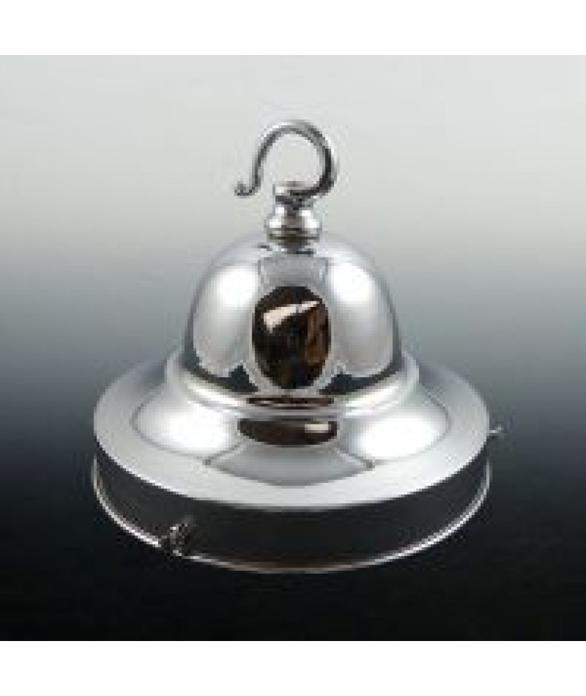 155mm Polished Chrome Dome with Hook