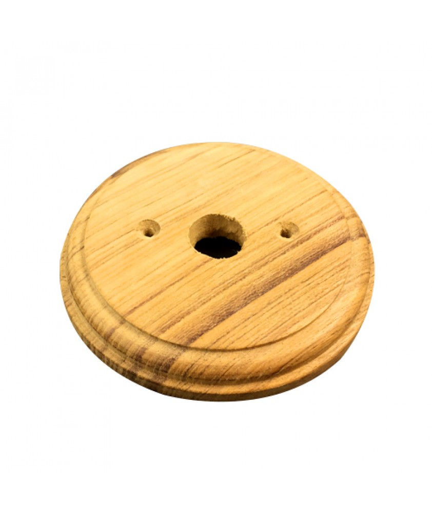 125mm Wooden Back Plate