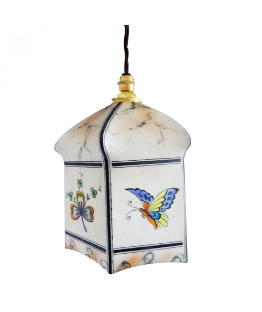 Vintage Butterfly And Clover Light