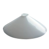 "18"" Opal Coolie Light Shade"