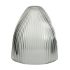 Prismatic Light Shade in Clear or Frosted