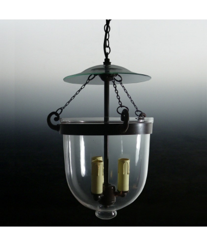 Clear Glass Georgian Lantern