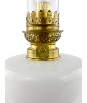 Floral Pattern  Oil Lamp
