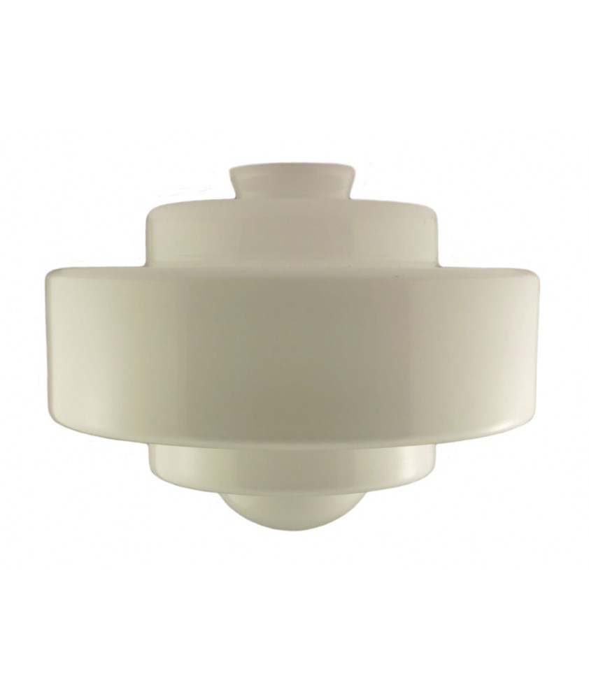 220mm Art Deco Saturn Style Shade with 80mm Fitter Neck