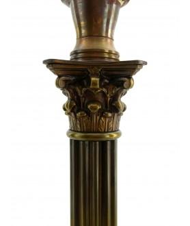 Antique Corinthian Column Table Lamp