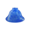 180mm Mottled Blue Coolie Light  Shade