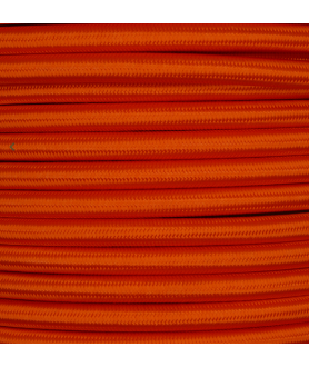 0.75mm Round Cable Orange
