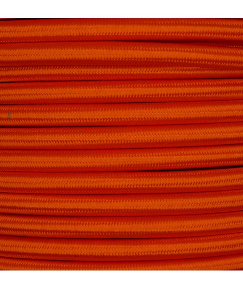 0.75mm Round Cable Orange