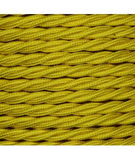 0.75mm Twisted Cable Yellow