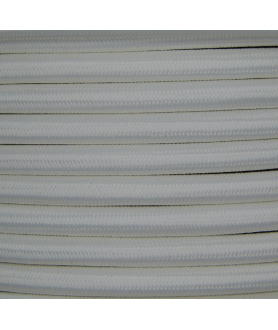 0.75mm Round Cable White