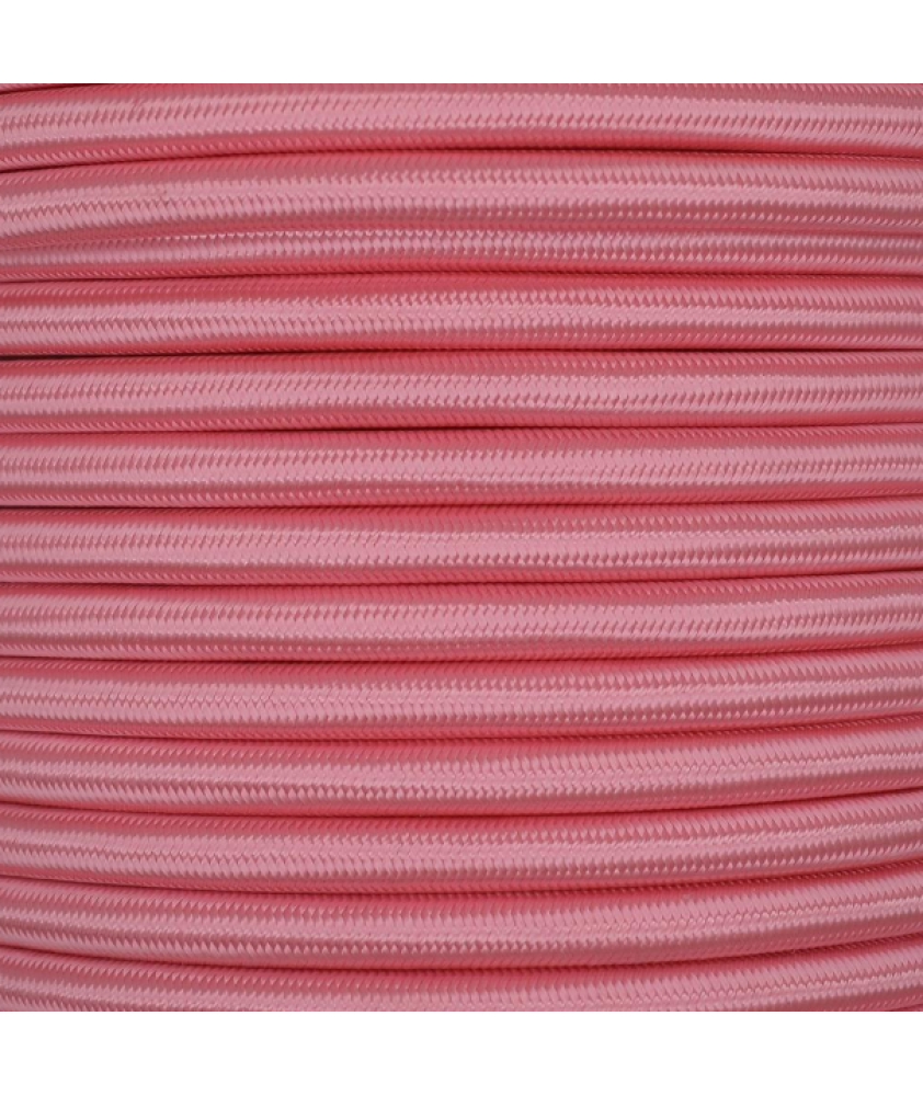 0.75mm Round Cable Baby Pink