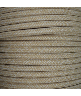 0.75mm Round Cable Linen