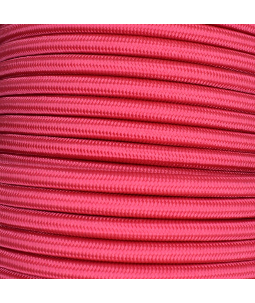 0.75mm Round Cable Cerise