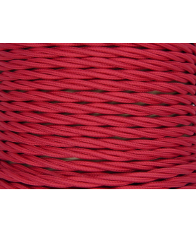 0.75mm Twisted Cable Cerise