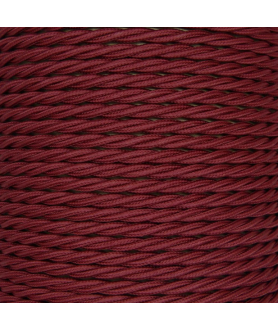 0.75mm Twisted Cable Burgundy