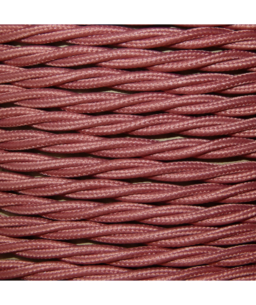 0.75mm Twisted Cable Rose Pink