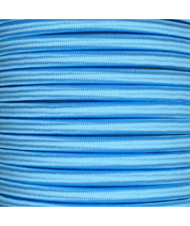 0.75mm Round Cable Light Blue