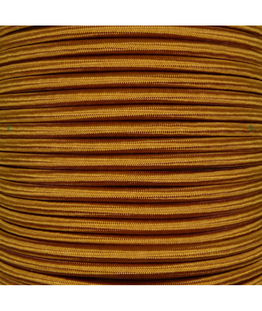 0.75mm Round Cable Antique Gold