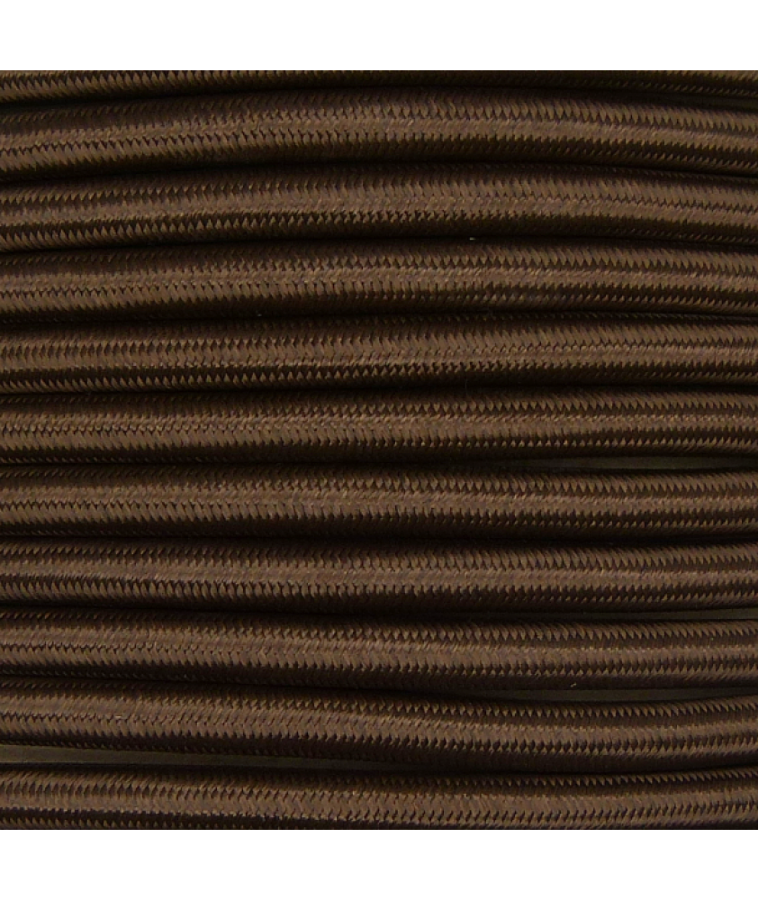 0.75mm Round Cable Brown