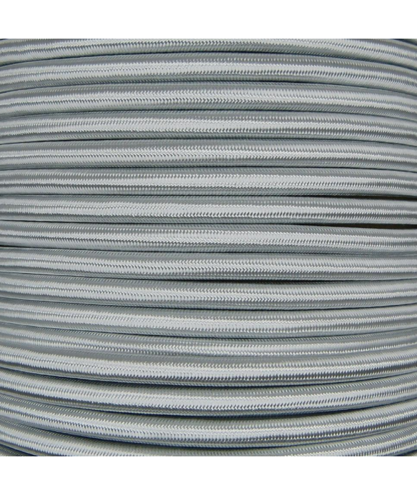 0.75mm Round Cable Silver