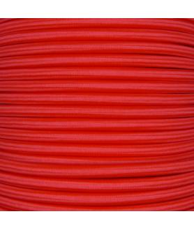0.75mm Round Cable Poppy Red