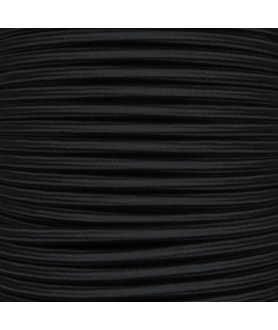 0.75mm Round Cable Black