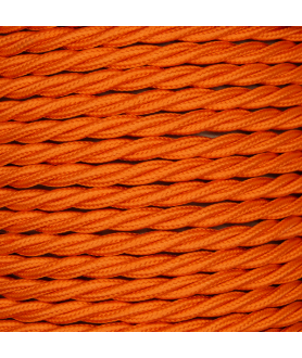 0.75mm Twisted Cable Orange