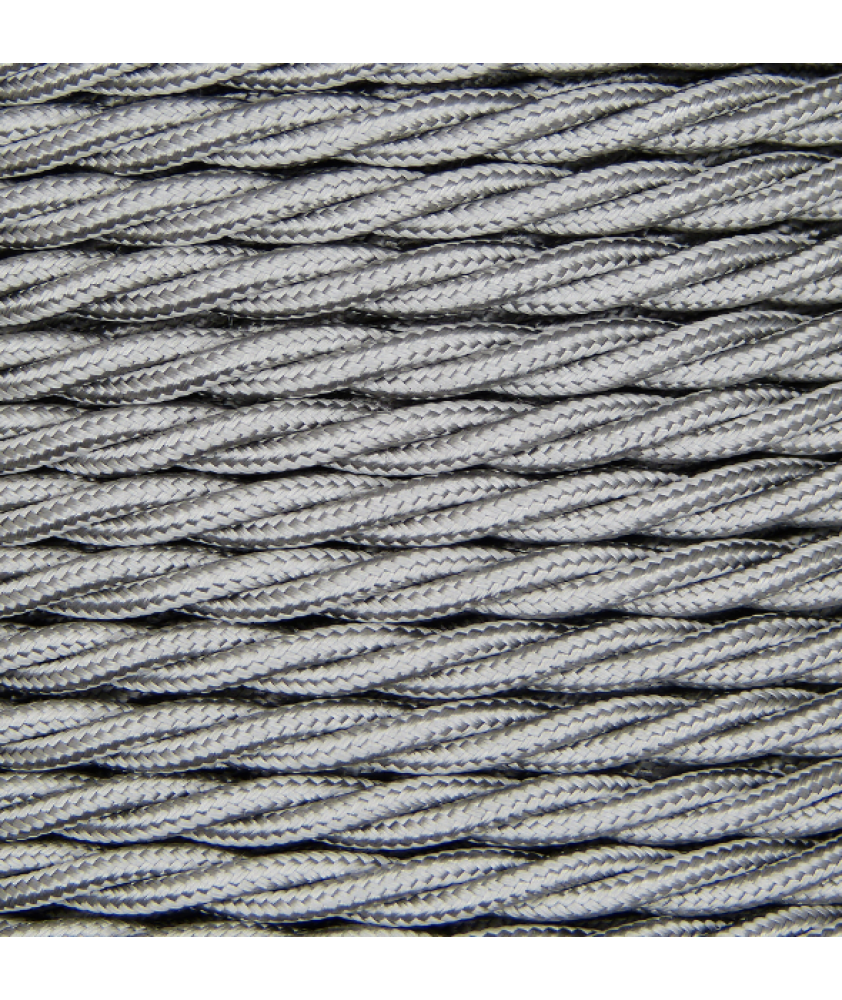 0.75mm Twisted Cable Silver
