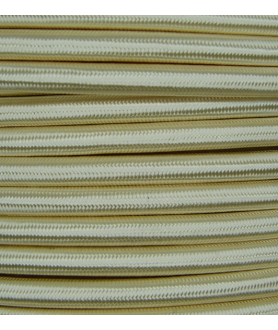 0.75mm Round Cable Cream