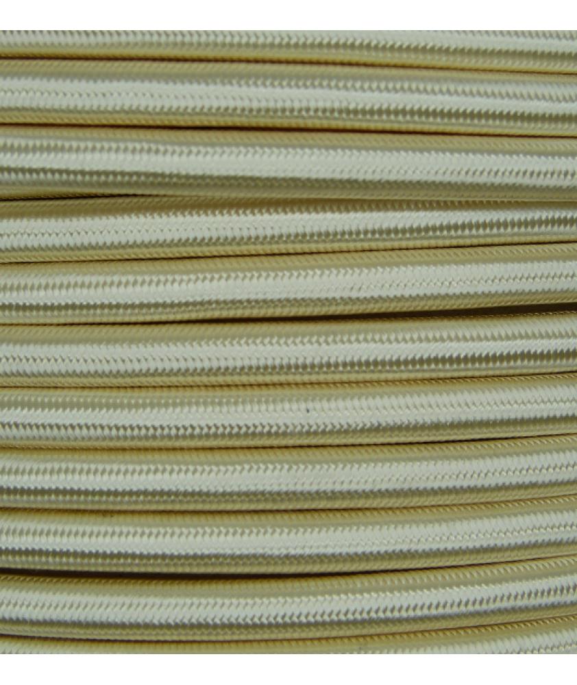 0.75mm Round Cable Cream